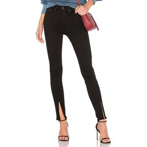 Rag & Bone Skinny Black Yuki Jeans Size 29